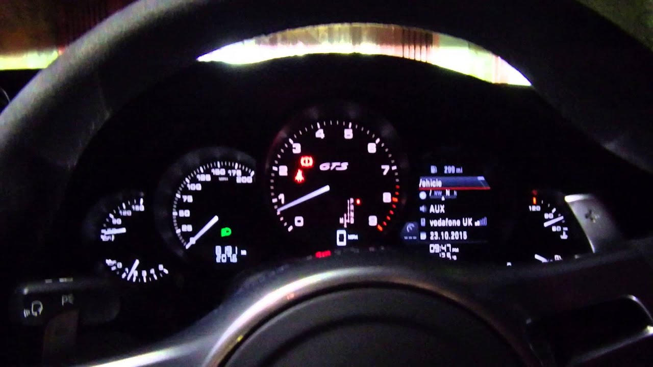 Porsche 911 991 Carrera 4 GTS Night Interior YouTube