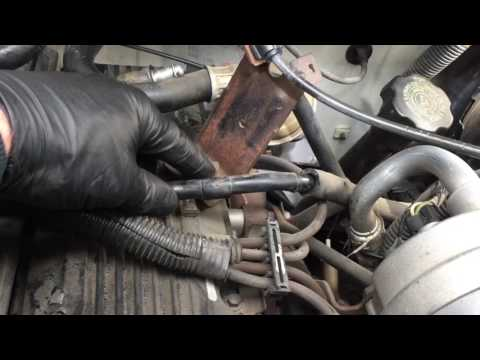1995 Chevy S-10 2.2L 4 cyl. Injector replacement. Cheat meth