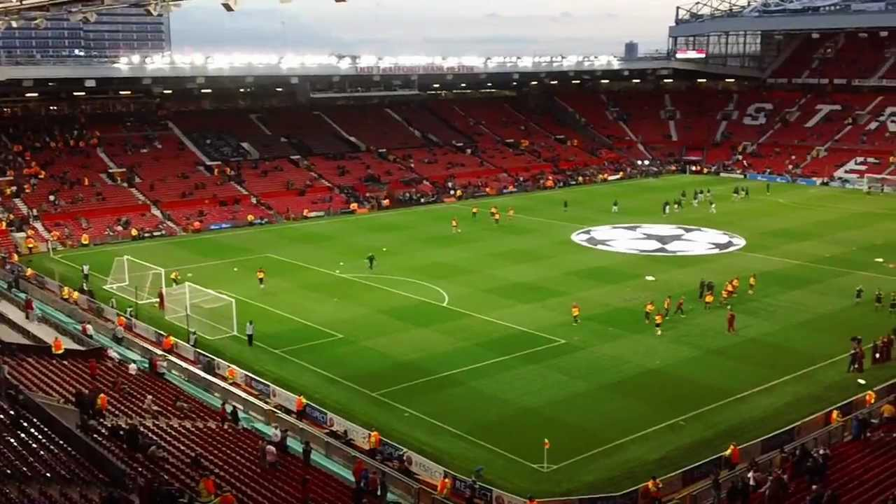 Image result for man utd north east quadrant seat view