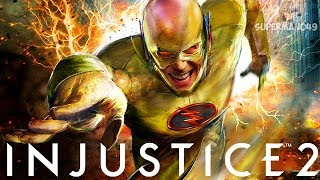 Reverse Flash The Ultimate FINISHER! - Injustice 2 Character Cycle #6 The Flash & Blue Beetle