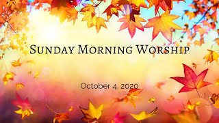Sunday, October 4, 2020