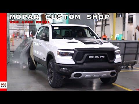 2019 Ram 1500 Rebel Truck At Mopar Custom Shop