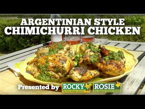 Argentinian Style Chimichurri Chicken