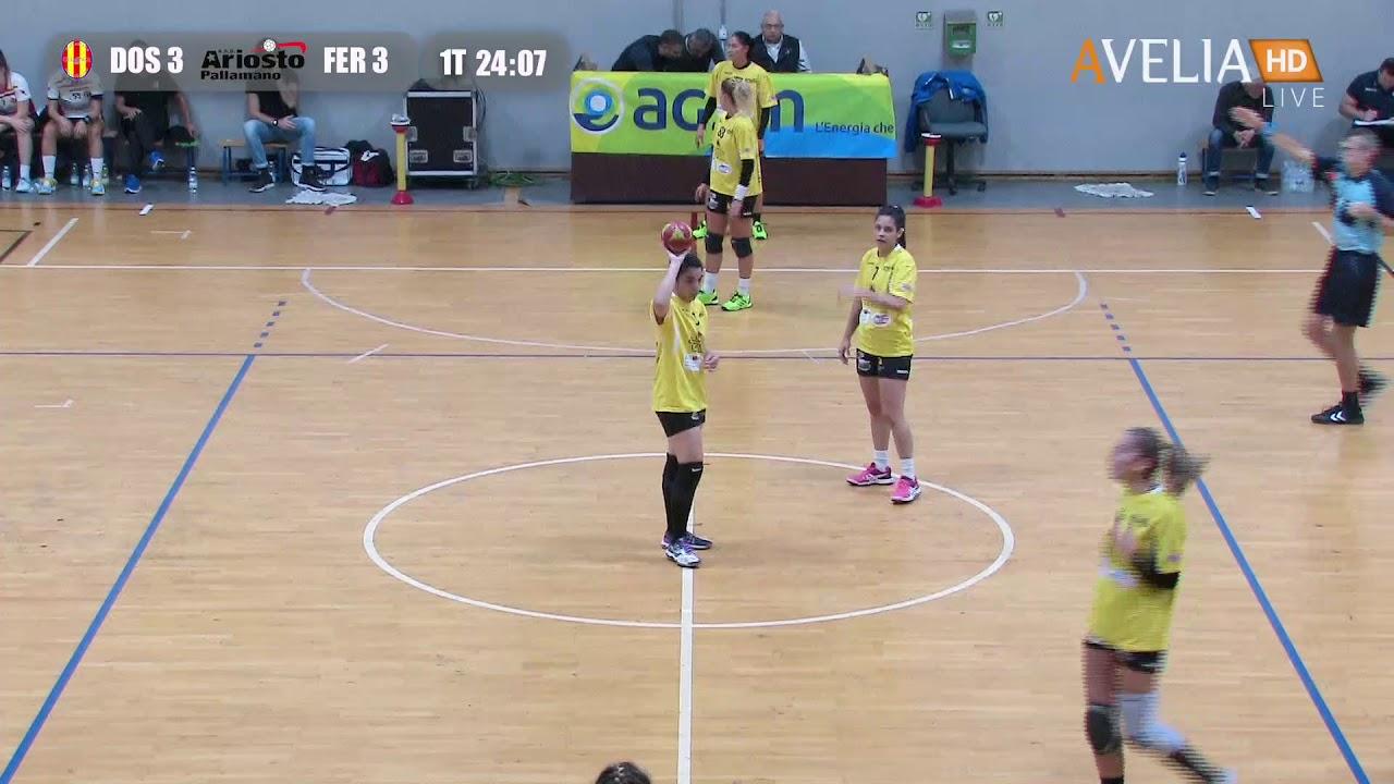 Serie A1F [3^]: Dossobuono - Ariosto Ferrara 31-18