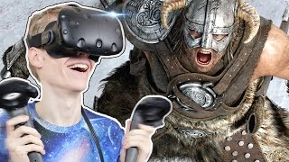 VIRTUAL REALITY SWORD FIGHTING | Valkyrie Blade VR (HTC Vive Gameplay)