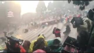 Hailstorm at Redrocks