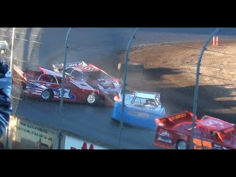 Fall Frenzy Super Late Model Qualifying & Heats @ Willamette Speedway 2018