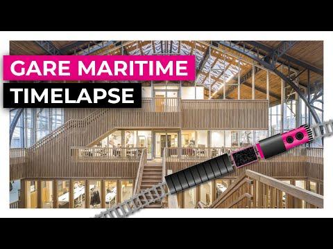 GARE MARITIME BRUSSEL // TIMELAPSE   WEBO Uitvinders in de Timmerindustrie