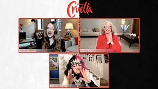 Emma Stone & Emma Thompson Interviews for Cruella