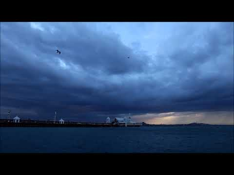 Storm Clouds/ High Winds Geelong Waterfront 14/02/2018