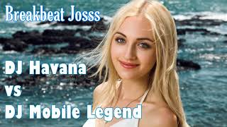 Dj Bass Level Dewa 2018 - Mobile Legend vs Dj Havana