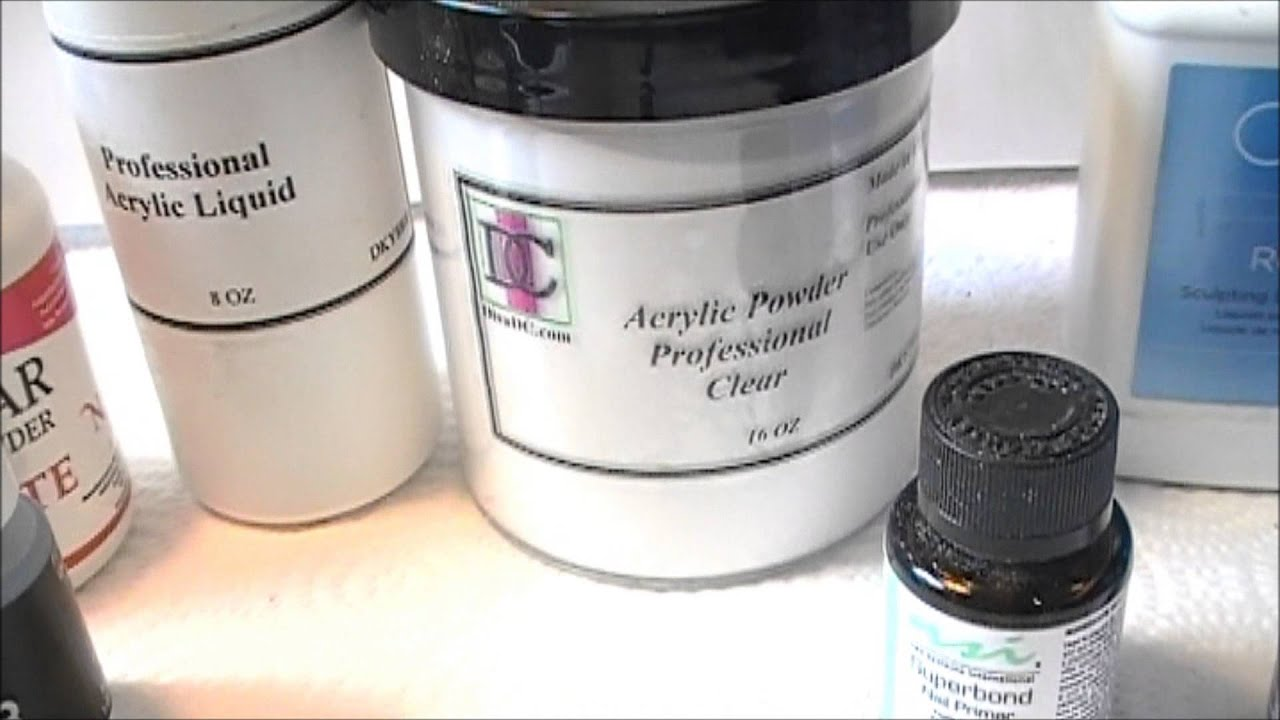 How To Prevent Acrylic Nail Lifting Part 1****Product***** - YouTube