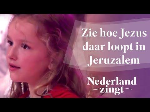 Nederland Zingt: Zie hoe Jezus daar loopt