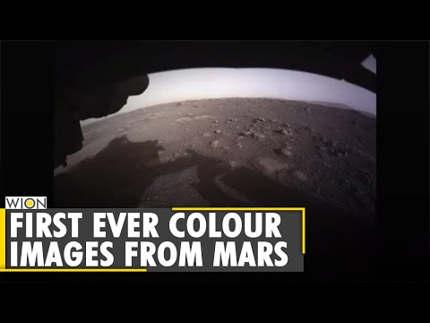 Perseverance rover sends first colour images from Mars | WION World News