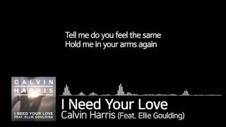 [I]#001 Calvin Harris - I Need Your Love (Feat. Ellie Goulding)