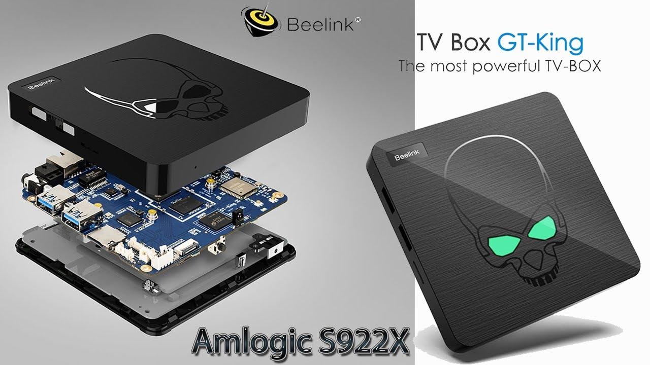 Первый TV Box Beelink GT King на новом процессоре от Amlogic S922X Обзор