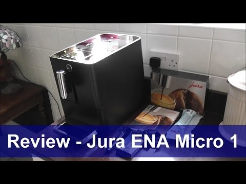 Review - Jura ENA Micro 1 beans to cup coffee machine