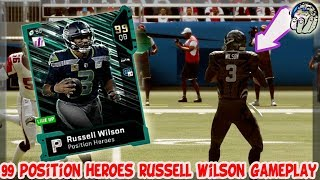 Russel Wilson THROWING Hot ONES! HIGH SCORING! 99 Russell Wilson Gameplay! | MUT 19 Gameplay