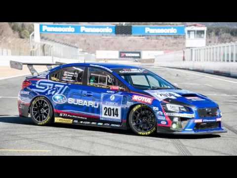 2017 Subaru WRX STI race car concept - YouTube