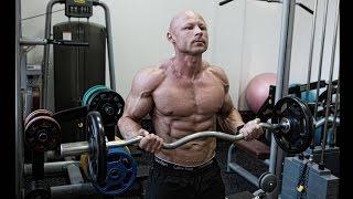 видео Упражнения на бицепс со штангой
