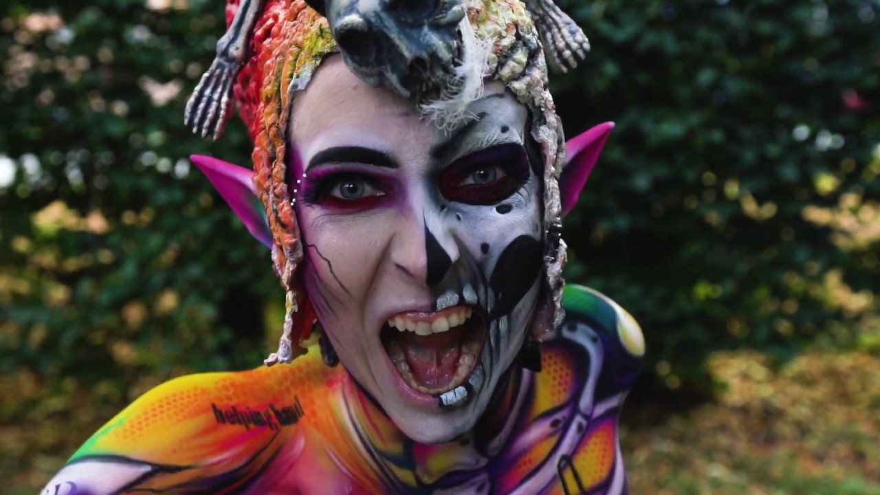 Final Day Of The World Bodypainting Festival 2019 Youtube