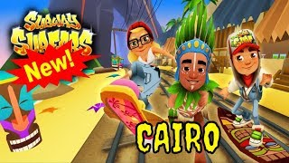 Subway Surfers Gameplay Cairo with Izzy and the Smooth Drift Board-  Subway Surfers World Tour