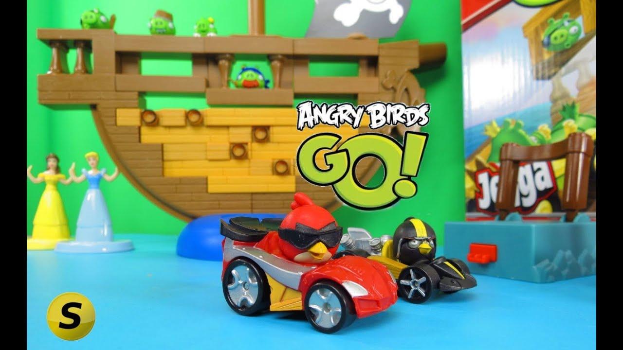 Hasbro  E240 Jeu De Société Angry Birds Go Pirate Pig Attack  pas cher