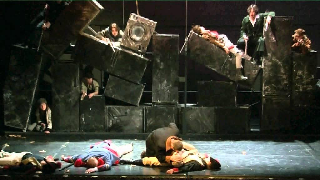 Theatre Du Parc Bruxelles Les Miserables