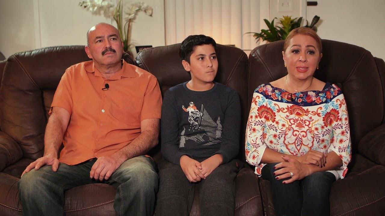 ICE detuvo a su marido, logramos sacarlo gracias a la petición que ella había  hecho para él.