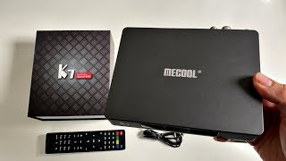Mecool K7 HYBRID Full Android TV Box - Multi-TV Tuner - DVB T2/S2/C - S905X2 CPU