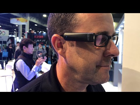 Orcam MyEye Computer Vision Cam At CES 2018 #CES2018