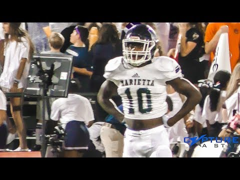 Ramel Keyton GOES OFF💣ON ROME || High School Football Highlights