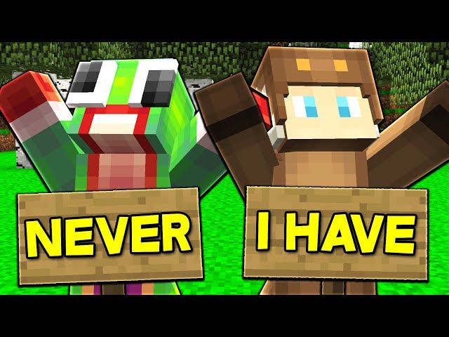 NEVER HAVE I EVER... WITH UNSPEAKABLEGAMING, MOOSECRAFT, & RYGUYROCKY! (Minecraft Edition)