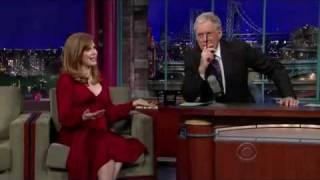 Amy Adams on David Letterman January 5th 2010