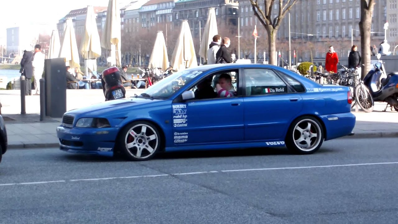 Tuned Volvo S40 wheelspin - YouTube