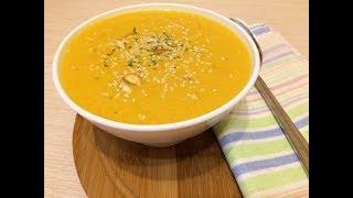 Суп пюре из тыквы с курицей.Диетический рецепт.