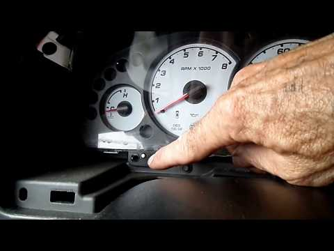 Ford Escape Instrument Cluster Removal