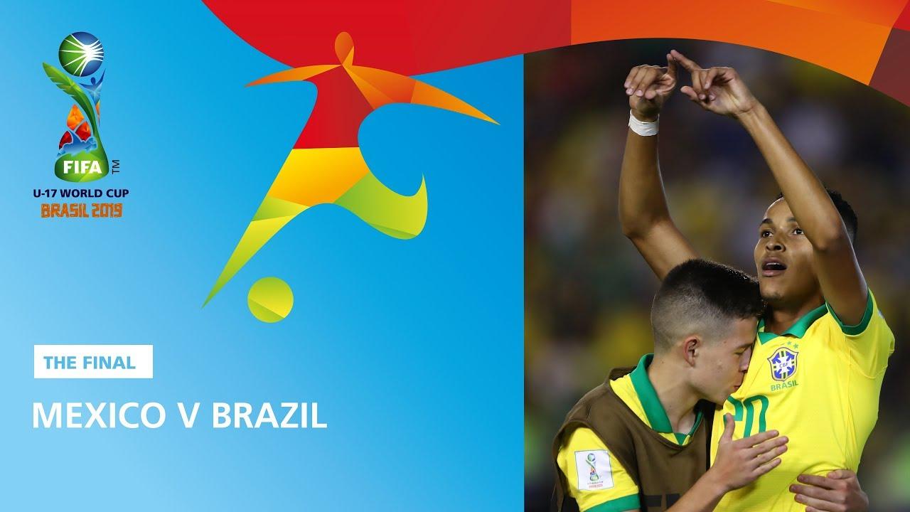 World Cup 2020 Brazil Squad.Final Mexico V Brazil Highlights Fifa U17 World Cup 2019
