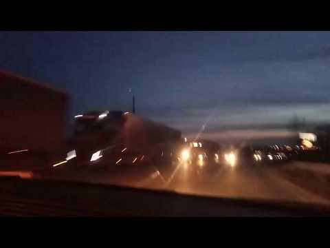 Нижний Новгород, Южный обход, многокилометровая пробка