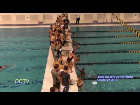 Oxford Girls Swim and Dive vs Athens: 10-27-16