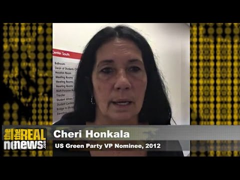 Green Party Convention 2016: Cheri Honkala