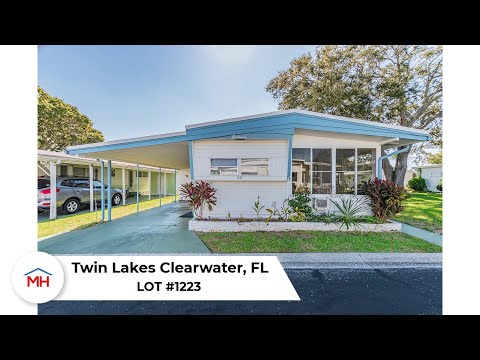 ✅ SOLD - Mobile Home For Sale In Clearwater, FL - Twin Lakes #1223