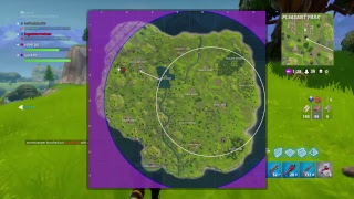 Fortnite battle royale with rjs1129 and leftbehind29 getting them a win (PS4)