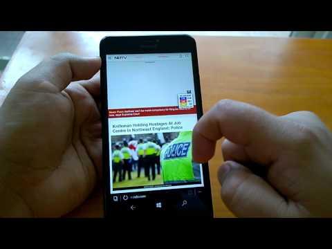 Windows 10 Mobile Build 15222 Hands-on Changes demo & impressions