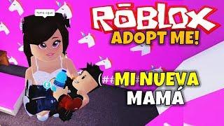 MY NEW MOM! ROBLOX: ADOPT ME!