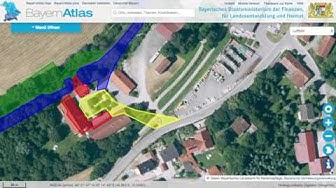 Wie man ein Sondel-Spot mit Hilfe des BayernAtlas bewertet.