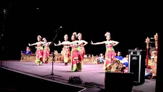 """Rejang Dance""  BALINESE GAMELAN & DANCERS @ Krannert Center World Music Concert"