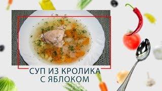Скороварка. Суп из кролика с яблоком в ARC–QDL-514D