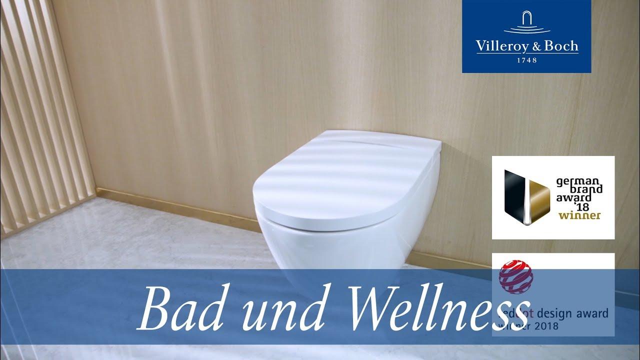 Wellness neu definiert - das ViClean-I 100 Dusch-WC | Villeroy & Boch