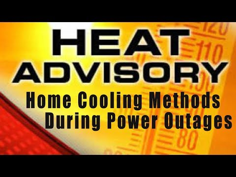 Passive Home Cooling Methods During Power Outages